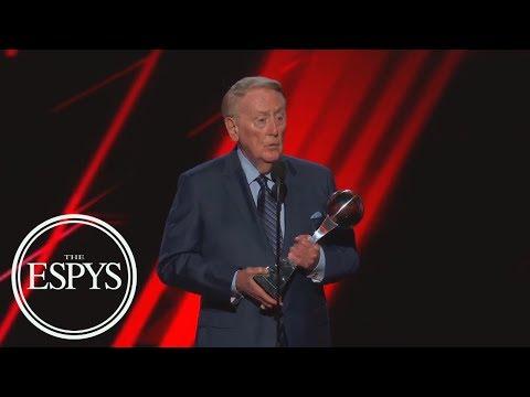 Vin Scully Receives The Icon Award   The ESPYS   ESPN