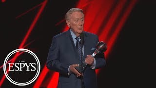 Vin Scully Receives The Icon Award | The ESPYS | ESPN