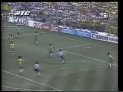 Brasil 3x1 Argentina  - Copa 1982 (World Cup 1982 Spain) - 1 tempo