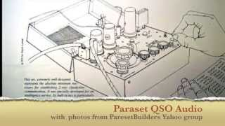 "WW2 Spy Radio ""Paraset"" QSO audio from W0RW and wG0AT/paraset"