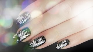 Firework with shining Stars - Silvester Nageldesign  | Collchen14