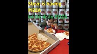 BÉ ĐI ĂN PIZZA VỚI BỐ MẸ  STEVE TOYSREVIEW