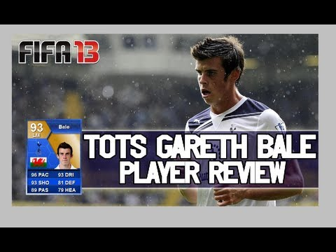 FIFA 13 - TOTS BALE 93 Review & In Game Stats Ultimate Team