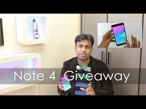 Samsung Galaxy Note 4 Giveaway! Best Phablet of 2014