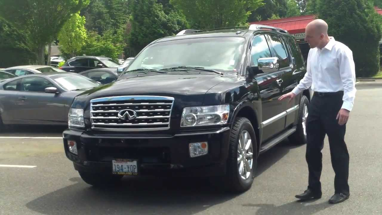 2008 infiniti qx56 review in 3 minutes you 39 ll be an expert on the 2008 infiniti qx56 youtube