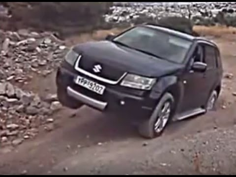 Suzuki Grand Vitara vs Volvo XC70 Off road 4x4 Diagonal Test