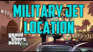 GTA V: How To Get The Military Jet