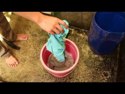 Cuci Baju Ala Anak KOS