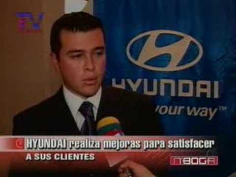 Hyundai realiza mejoras para satisfacer a sus clientes