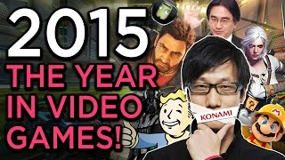 The 2015 Video Game Year In Review