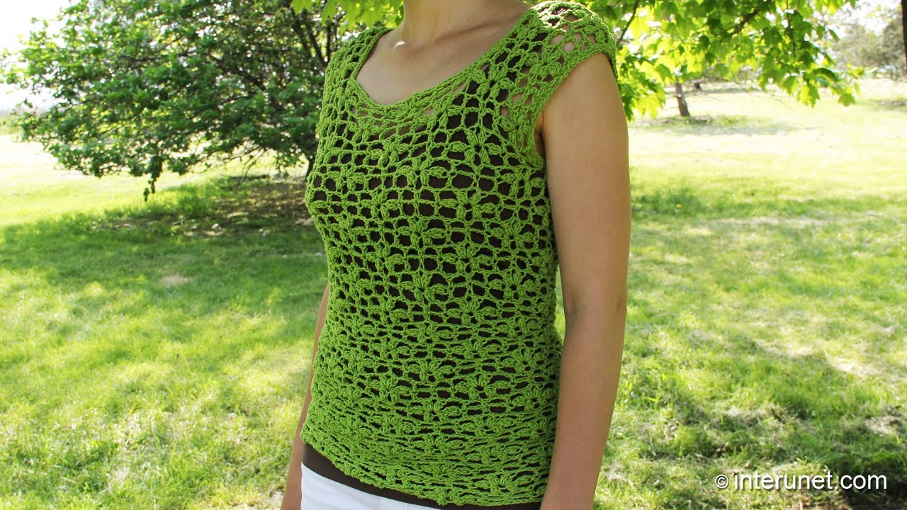 Crochet Patterns For Ladies Summer Tops ~ manet for .
