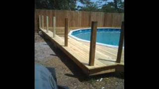 above ground pool setup instructions