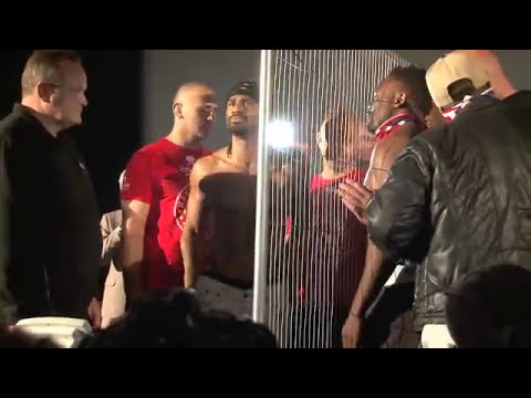 DAVID HAYE v DERECK CHISORA OFFICIAL WEIGH-IN (FULL) @ ODEON LEICESTER SQUARE / iFILM LONDON