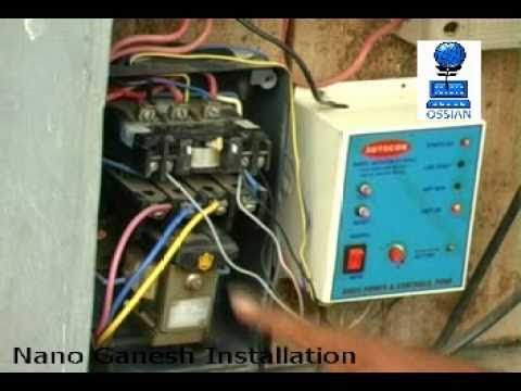 control wiring diagram for dol starter nano ganesh installation guide                    youtube  nano ganesh installation guide                    youtube