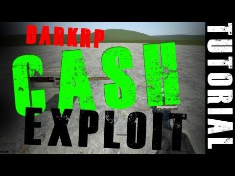 Garry's Mod 13: DarkRP Money UNLIMITED MONEY Exploit [TUT] [HD 1080p]
