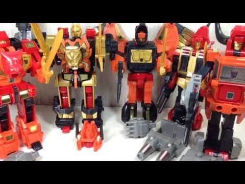 Predaking Transformers Platinum Edition Toy Review