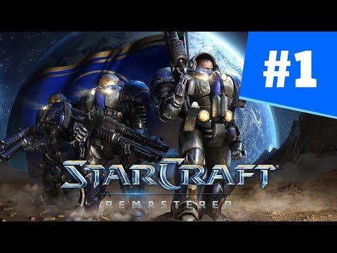 StarCraft Remastered Часть 1 Пустошь - Прохождение Кампании Терраны