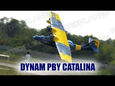 Unboxing: Dynam PBY Catalina RC Seaplane