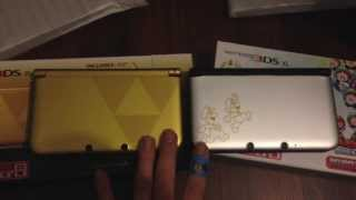 Limited Edition Mario and Luigi: Dream Team 3DS XL unboxing!!  (US)
