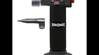 BernzOmatic ST2200-T 3in1 soldering iron/micro-torch review