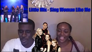 Little Mix -  Sing Woman Like Me | Live Shows Week 2 - Reaction