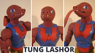 Filmation Tung Lashor He-Man And The Masters Of The Universe Figure Video Review & Unboxing
