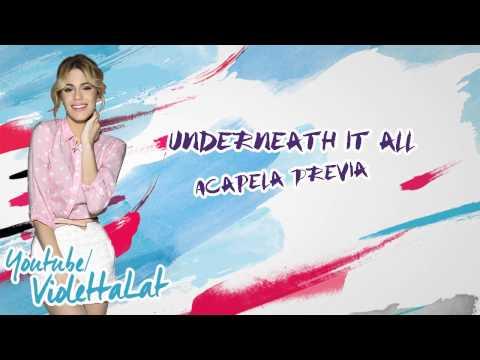 Violetta 3 - Underneath it all - (Acapella Previa)