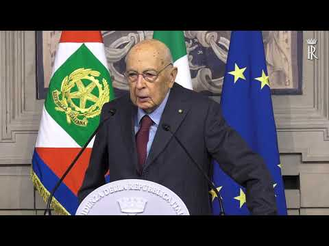 Presidente Emerito della Repubblica: Sen. Dott. Giorgio Napolitano