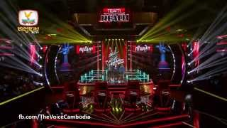 The Voice Cambodia - ហៀង សុភ័ក្រ្តា VS ស៊ុន លីហៀង - មាននាងក៏ធុញគ្មាននាងក៏ធុញ - 14 Sep 2014