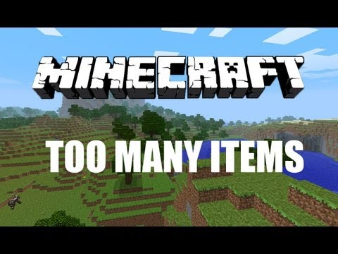 Minecraft Mod Review: Too Many Items Mod for Minecraft 1.7.4