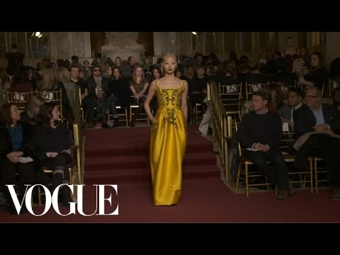 Zac Posen Ready to Wear Fall 2013 Vogue Fashion Week Runway Show