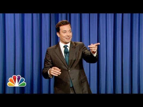 Jimmy Fallon's Monologue: Incorrect New York Times Headlines, Twerking Fail – Part 2
