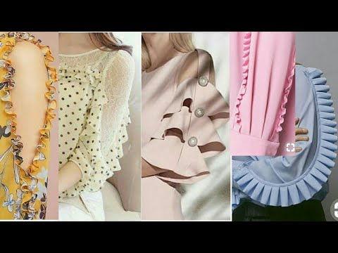 Dress Design 2018, Stylish Sleaves Ideas for Decent Look, Fashion Designing, Cutting and Stitching