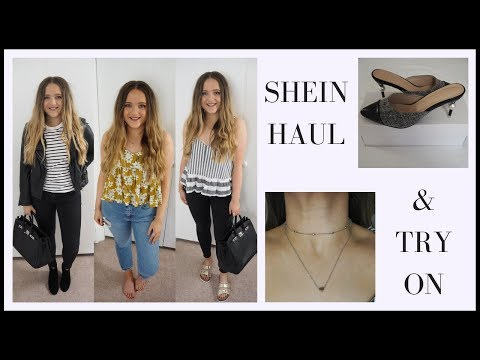 SHEIN HAUL AND TRY ON FOR SUMMER 2018