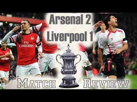 We can win a trophy! Arsenal vs Liverpool 2-1 FA Cup 2013-14