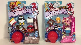 Transformers BotBots Mini Robots HasbroToy Unboxing & Review