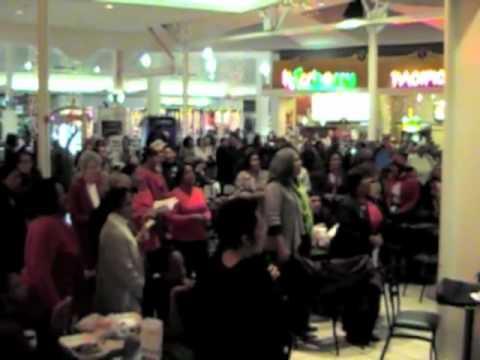 Hallelujah Chorus Flash Mob