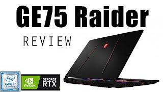 MSI GE75 9SF Raider-286 Intel® 9th Gen Core™ i7-9750H – nVIDIA GeForce RTX 2070