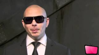 Pitbull Interview & Behind The Scenes Of