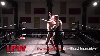 LPW 111018 Kenny Urban VS Superman Lover