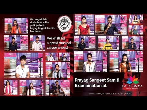 Prayag Sangeet Samiti Final Practical Exam at Saregama Music Academy