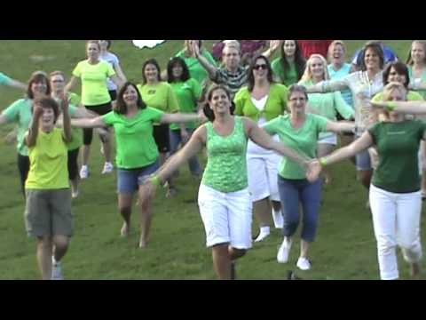 Flash Mob Dancing Queen video