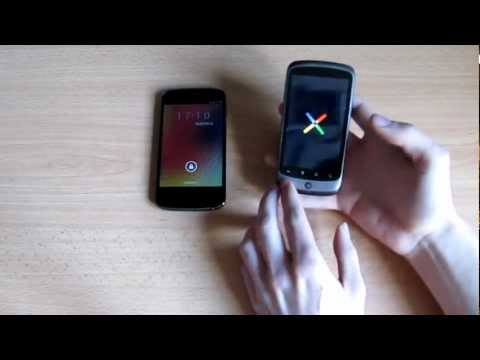 Nexus 4 VS Nexus One: il videoconfronto by Specialgeek.it