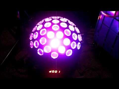 JD Bass Chauvet Hemisphere 5 DMX DJ Light review!