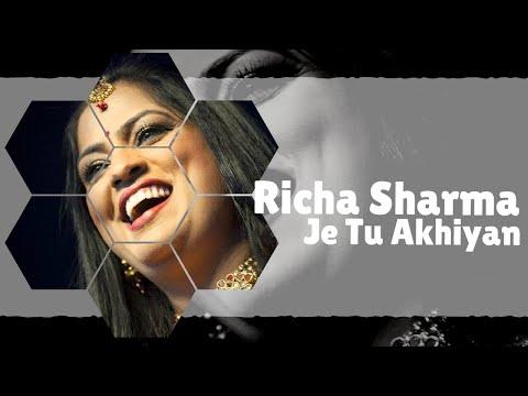 Sufi Song   Je Tu Akhian De Samne Nahi Rehna   Richa Sharma   Idea Jalsa   Art and Artistes