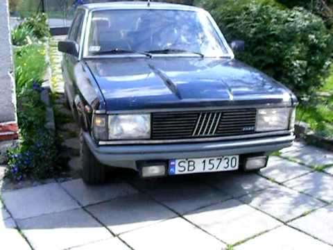 ����������� �� ������� � ������������ Fiat 132 Argenta