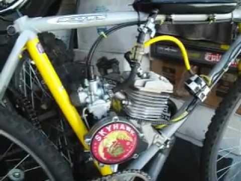 Fast motor bicycle 66cc skyhawk khs bicycle