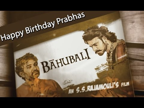 Making Of Baahubali - Happy Birthday Prabhas video