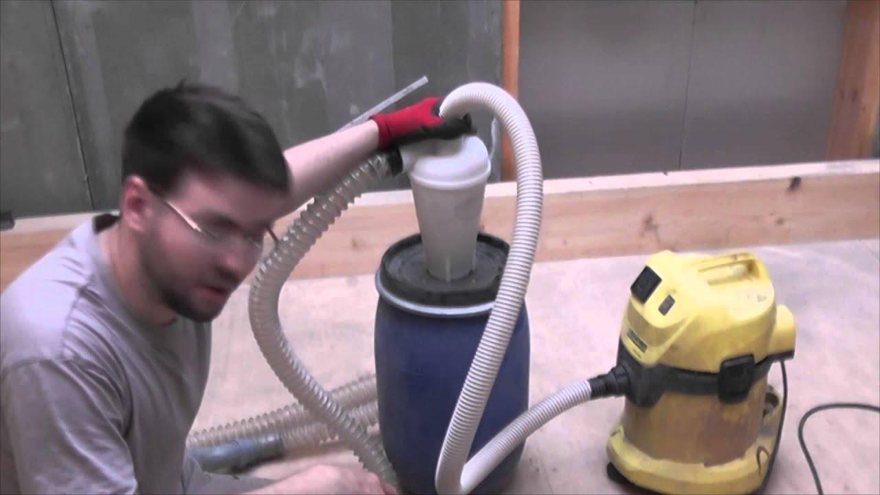 Как сделать пылесборник для пылесоса