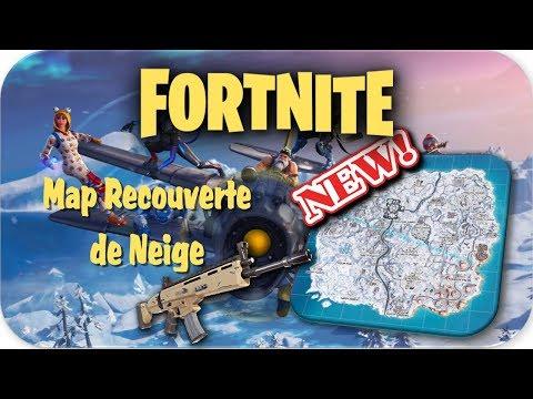 FORTNITE   La Map entièrement recouverte de Neige [ HD / FR ]